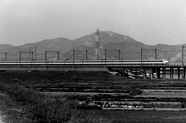 加古川橋梁0系高御位山0系.JPG