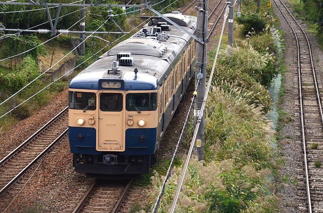 1013小諸しなの鉄道115系スカ色2連.JPG