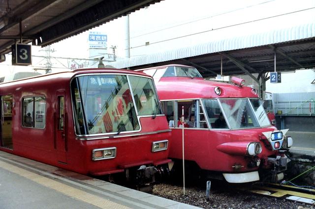 名鉄新岐阜5700急行・7000特急.JPG