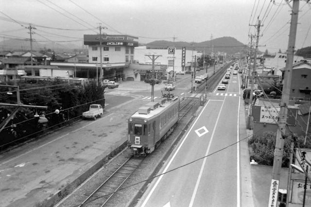 美濃町線赤土坂4・600形俯瞰2.JPG